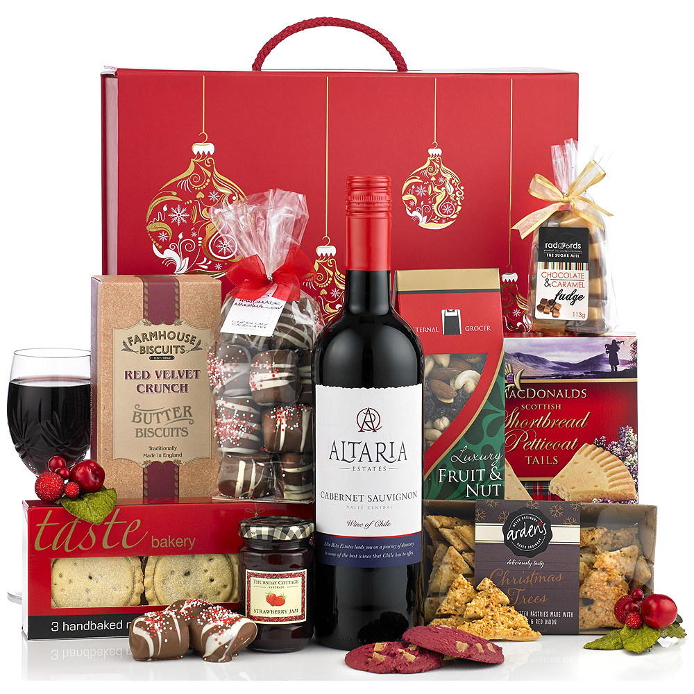 Luxury Christmas Hamper from Bunches - product image taken from Bunches.co.uk